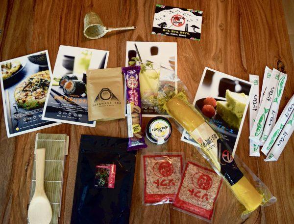 Contenu de la boîte Food Trip To Japan