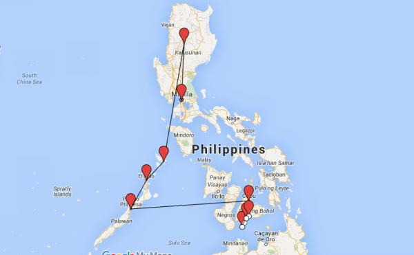 itinéraire et budget aux Philippines