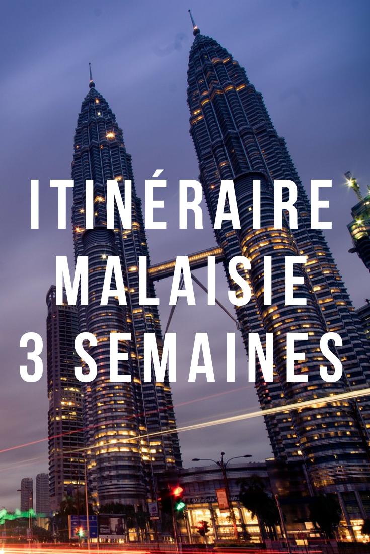 Itinéraire en Malaisie de 3 semaines : où aller en Malaisie