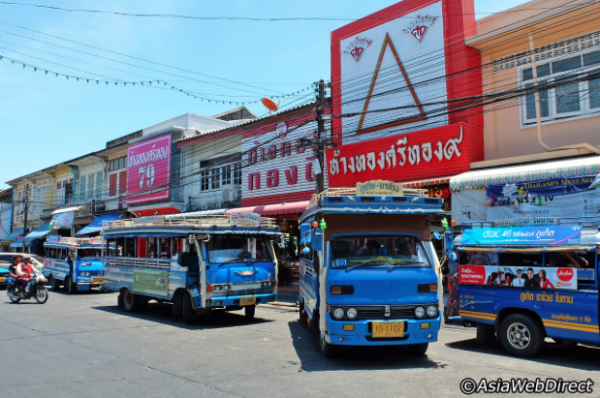Autobus sur l'île de Phuket