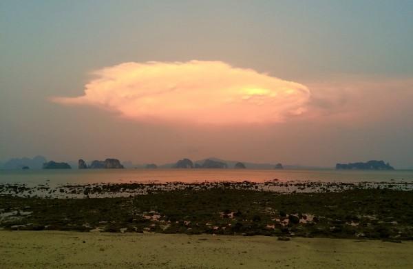 Le soleil se couche sur Koh Yao Noi