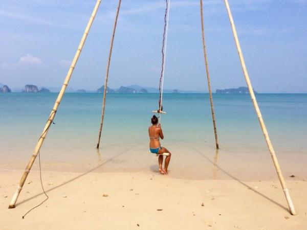 Sur une plage de Koh Yao Noi