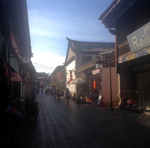 Les rues de Jianshui