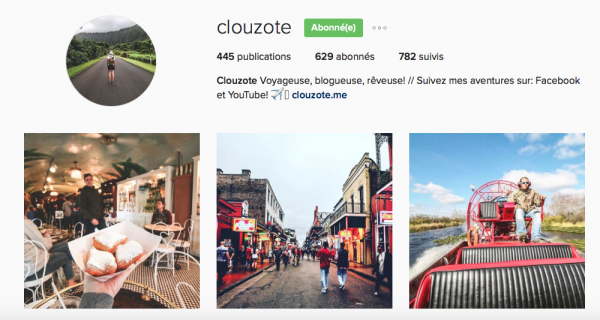 Compte Instagram Clouzote