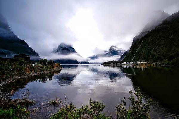 Paysage grandiose de la Nouvelle-Zélande
