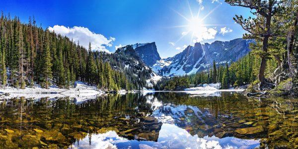 Les paysages montagneux du Colorado
