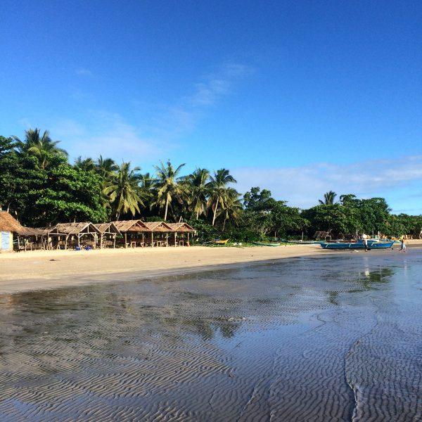 Une plage des Visayas aux Philippines