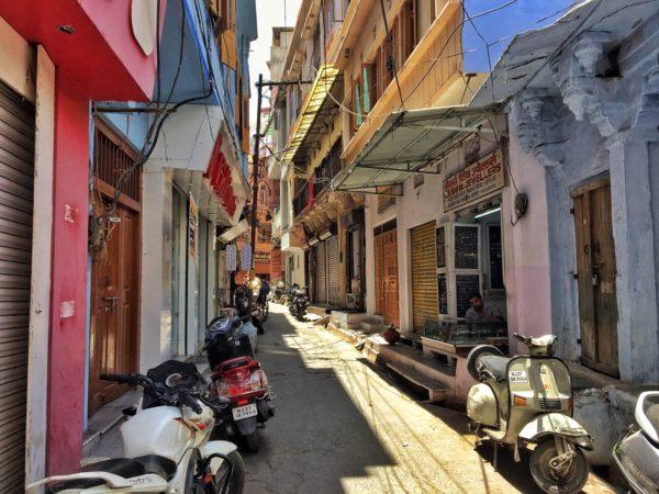 Les rues de Udaipur