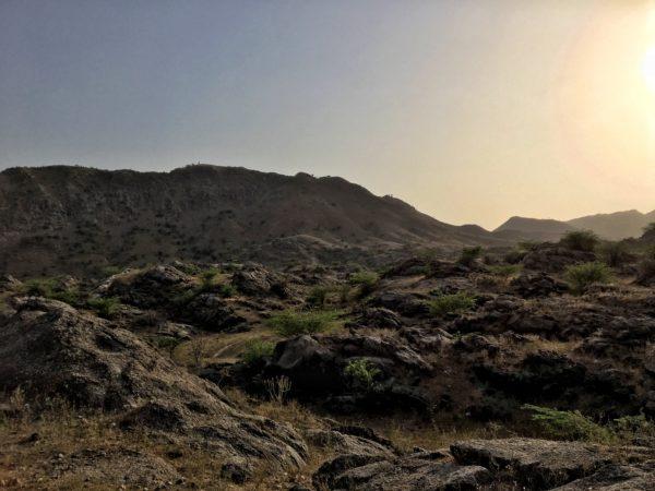 Couché de soleil, Rajasthan