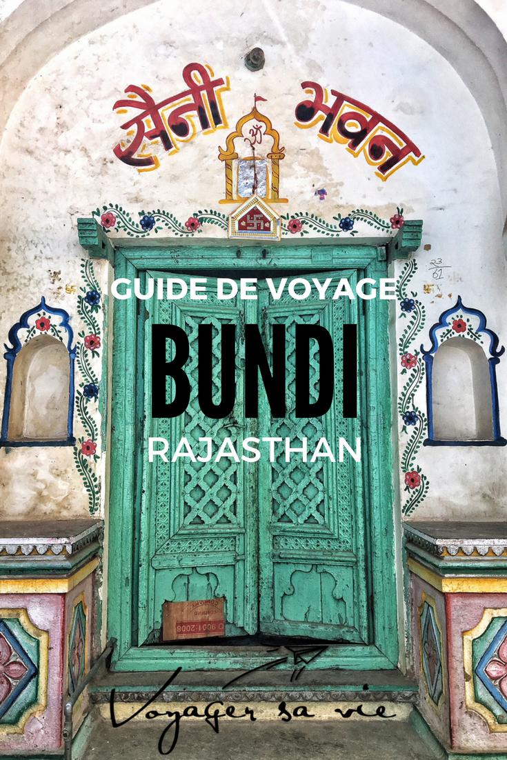 Guide de voyage pour Bundi dans le Rajasthan