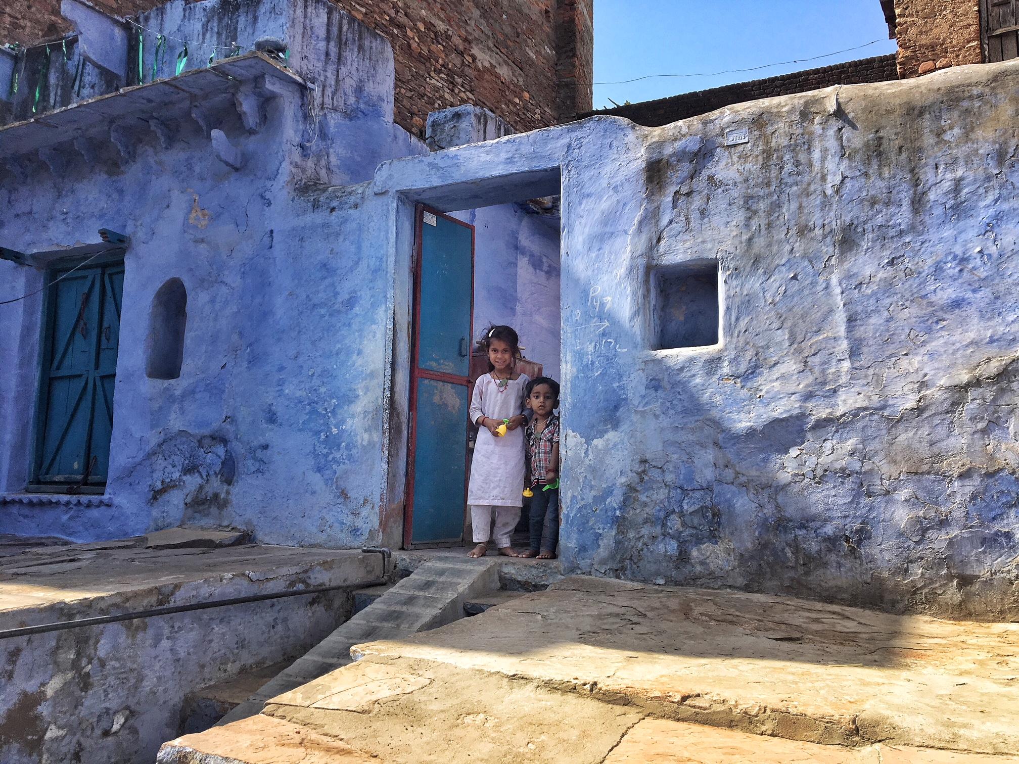 Dans les rues de Bundi au Rajasthan