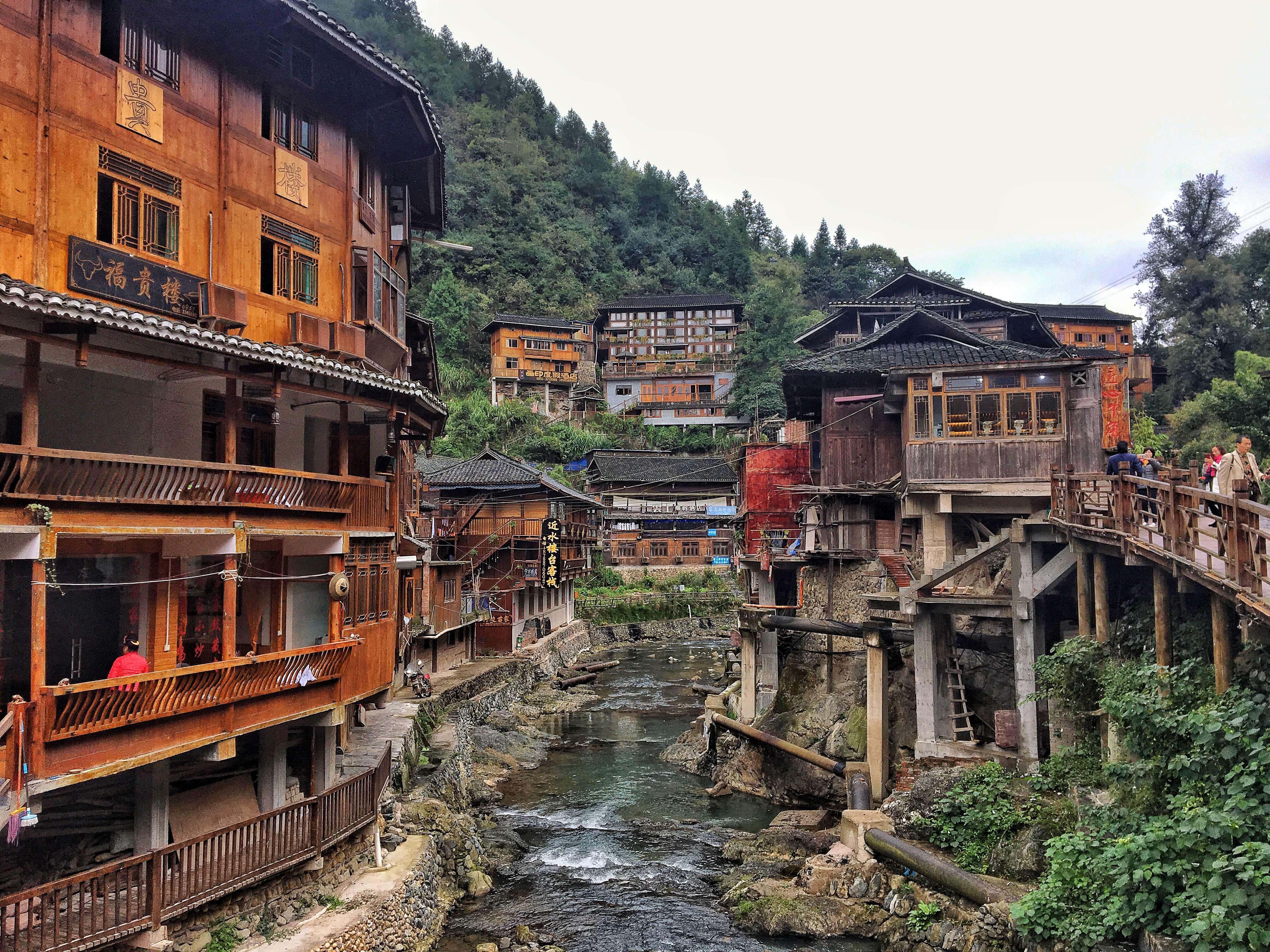 Le village de Zhaoxing, une des 6 villes d'Asie à visiter en 2018