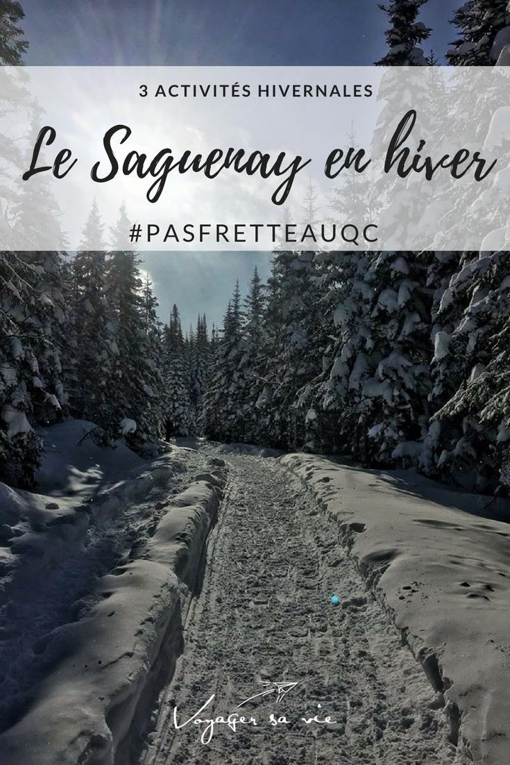 Le Saguenay en hiver, activités hivernales à faire absolument