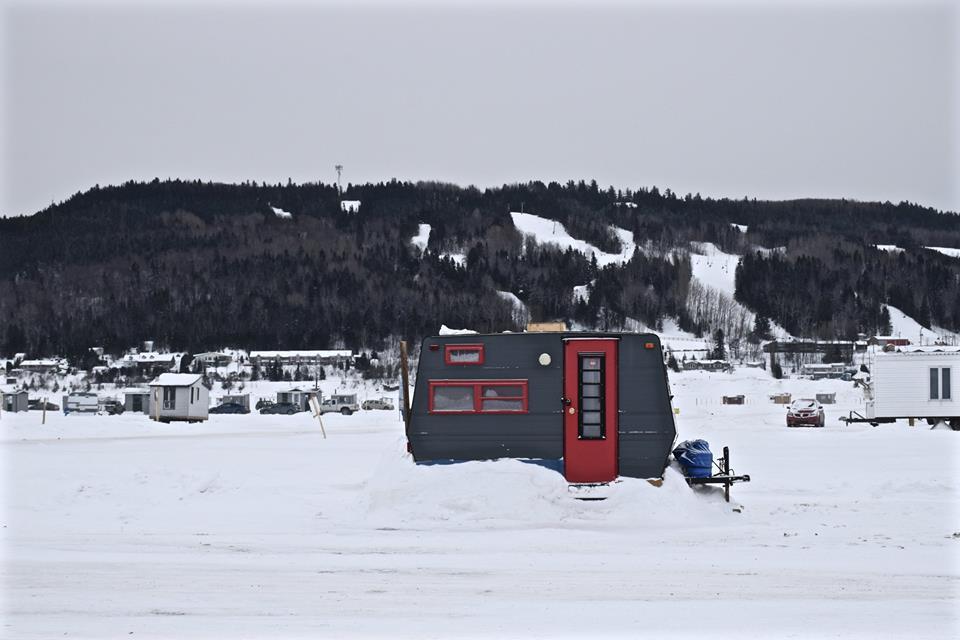 Le Saguenay en hiver et la pêche blanche