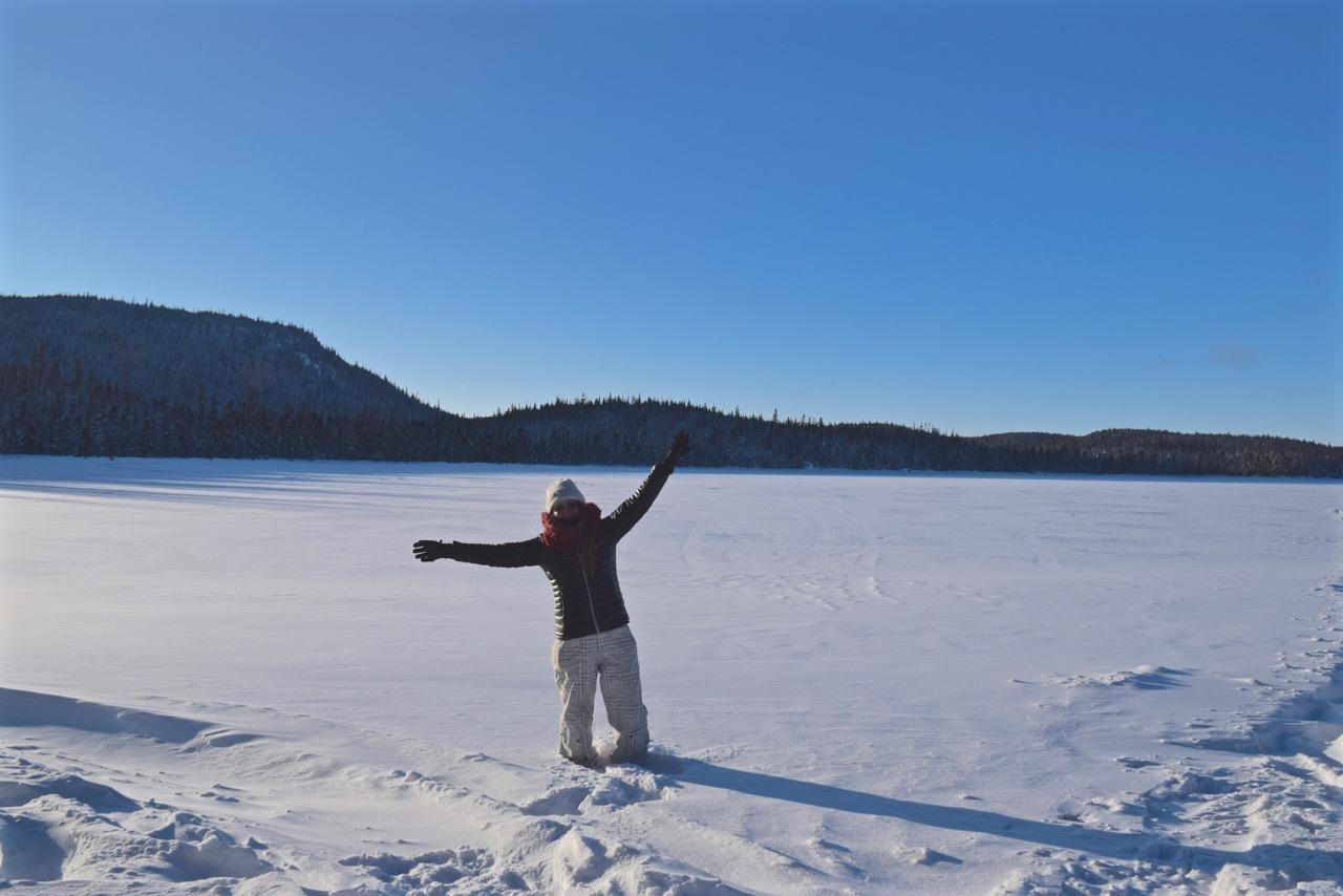 Le Saguenay en hiver, Pam de Voyager sa vie