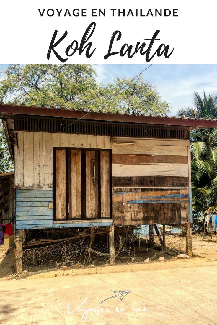 Maison sur l'île de Koh Lanta