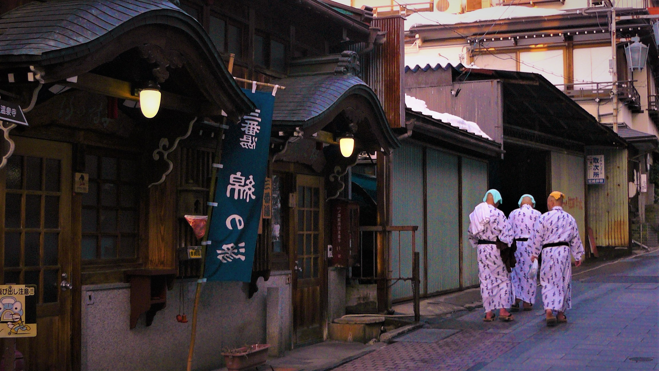 Où aller au Japon? À Yudanaka.