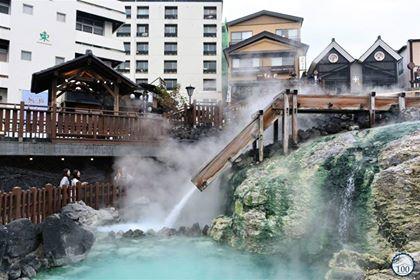 Où aller au Japon? À Kusatsu Onsen.