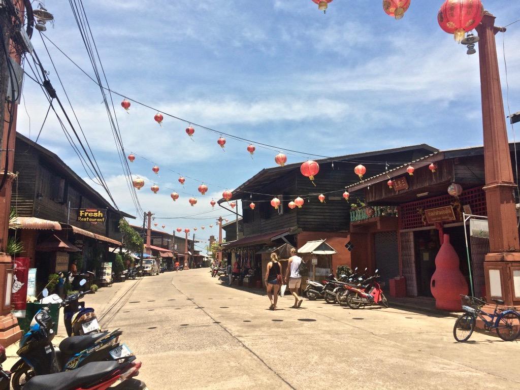 Une visite à Old Town sur l'île de Koh Lanta