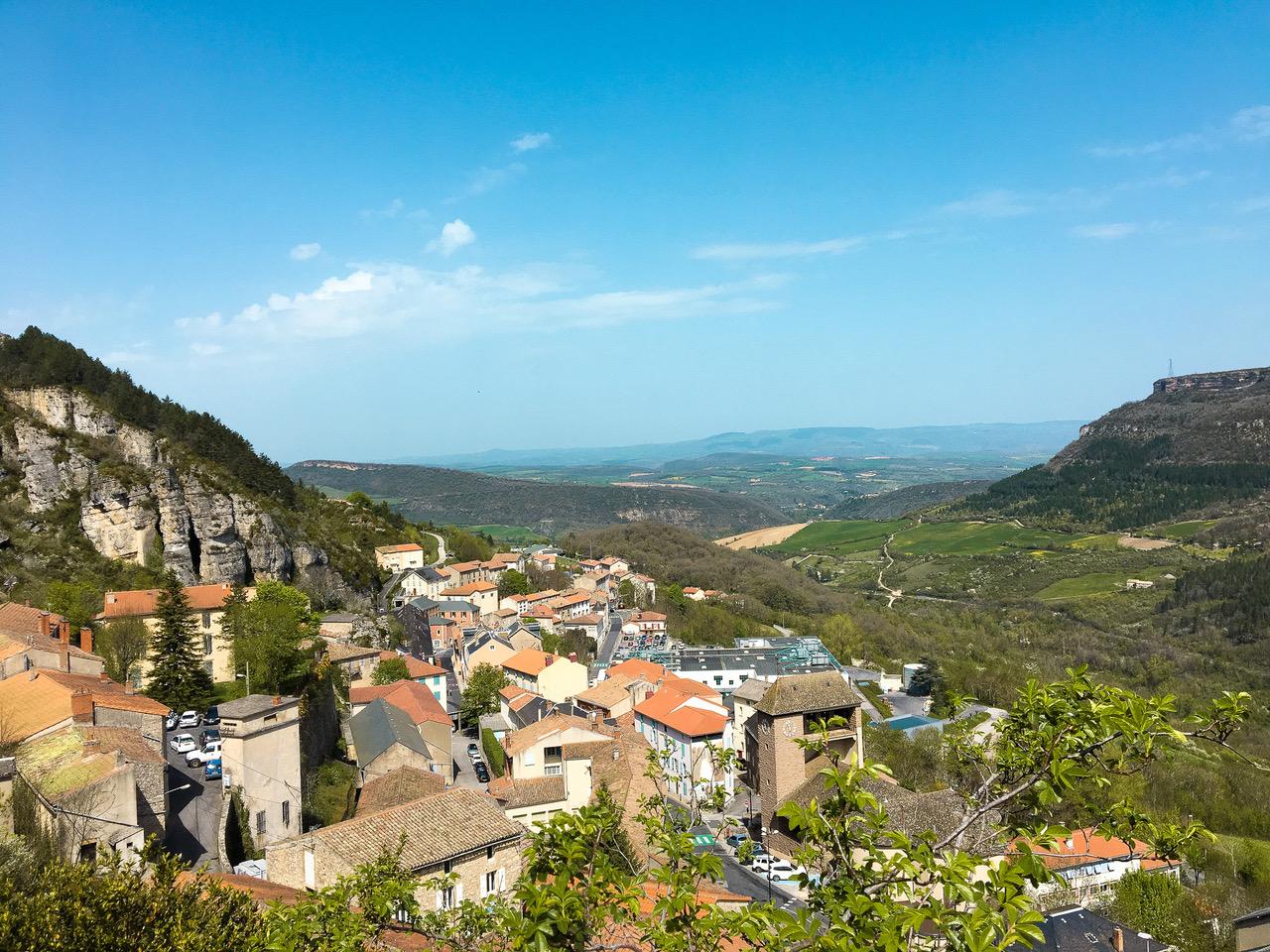 Le salon des blogueurs avait lieu dans la région de l'Aveyron dans le sud de la France.