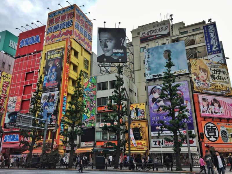 Visiter Tokyo et être fascinée par le quartier Akihabara
