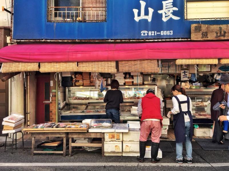 Les rues du quartier Yanaka de Tokyo