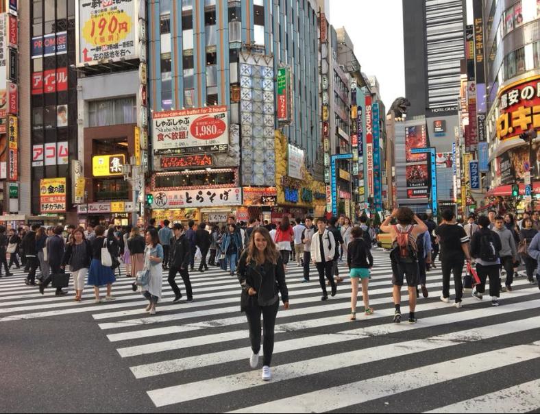 Être émerveillée par Tokyo