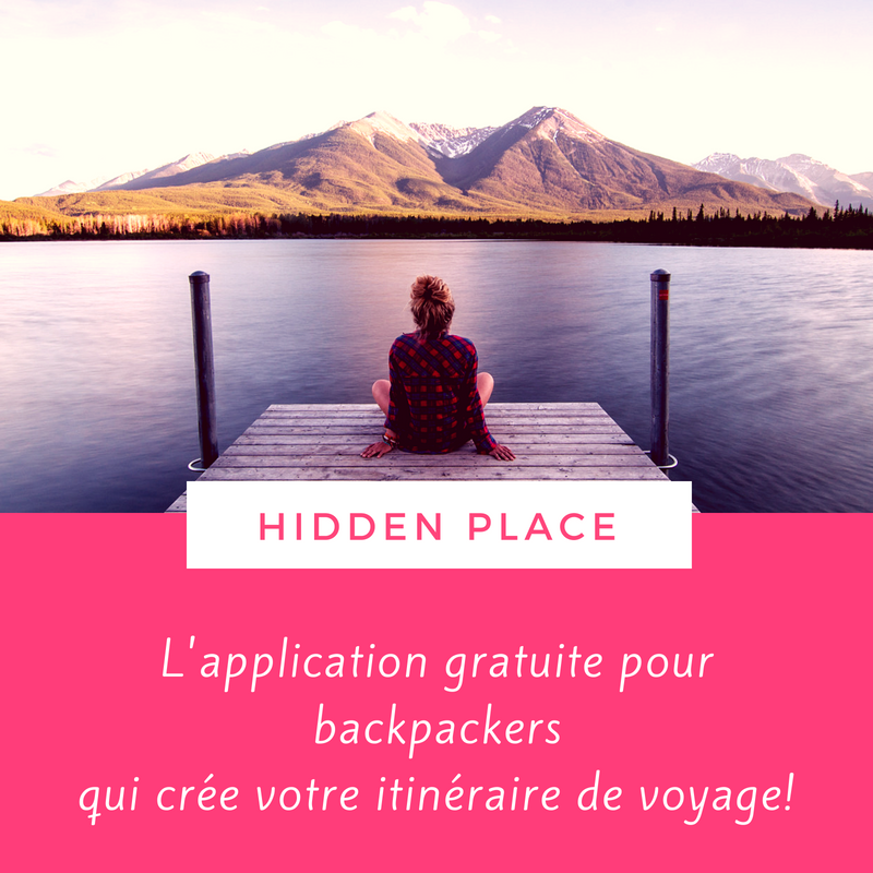 Application pour backpackers