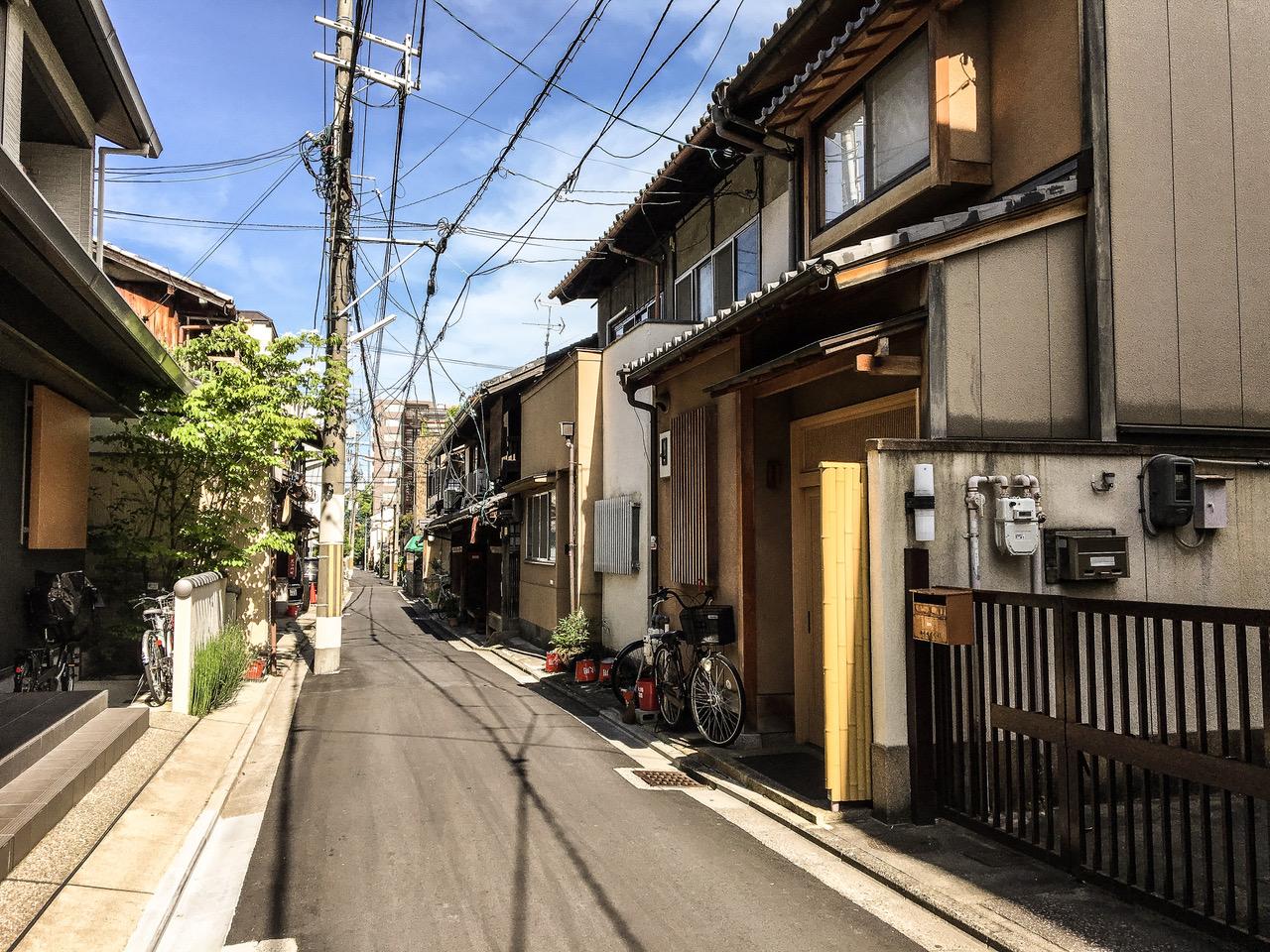 Les rues typiques de Kyoto