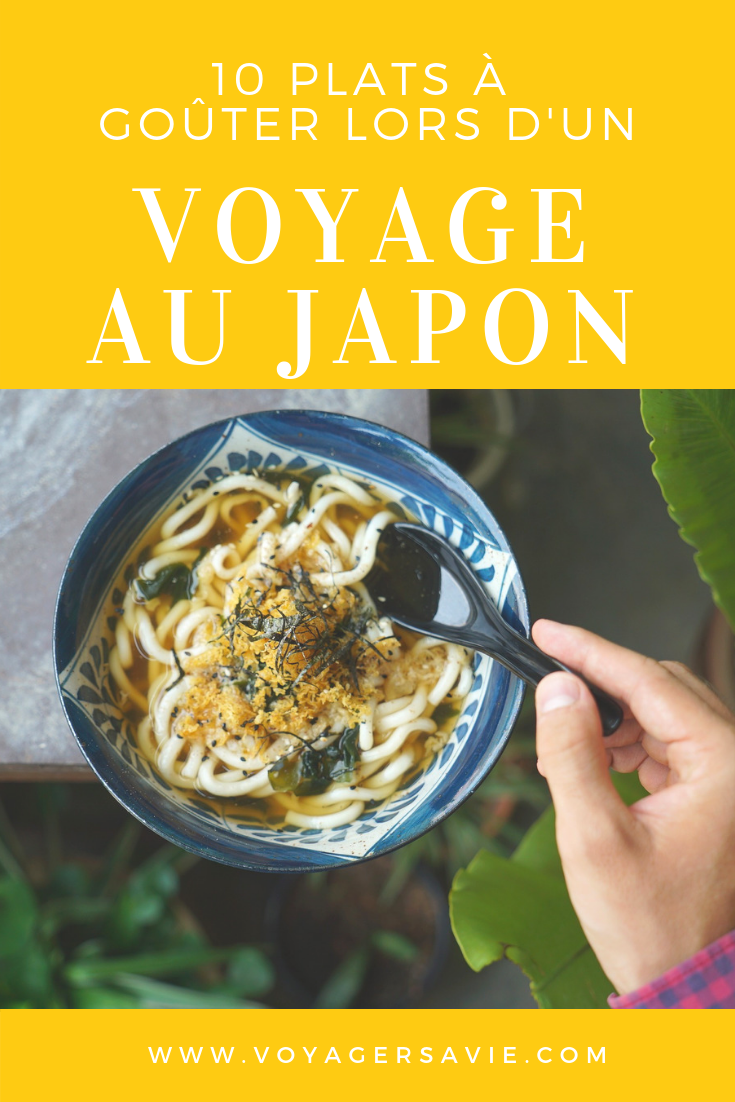 10 plats japonais à goûter absolument au Japon