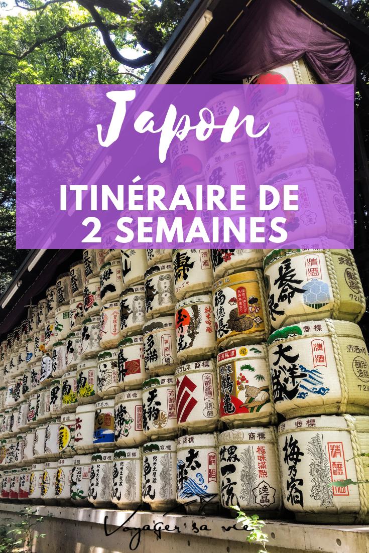 Itinéraire de 2 semaines au Japon