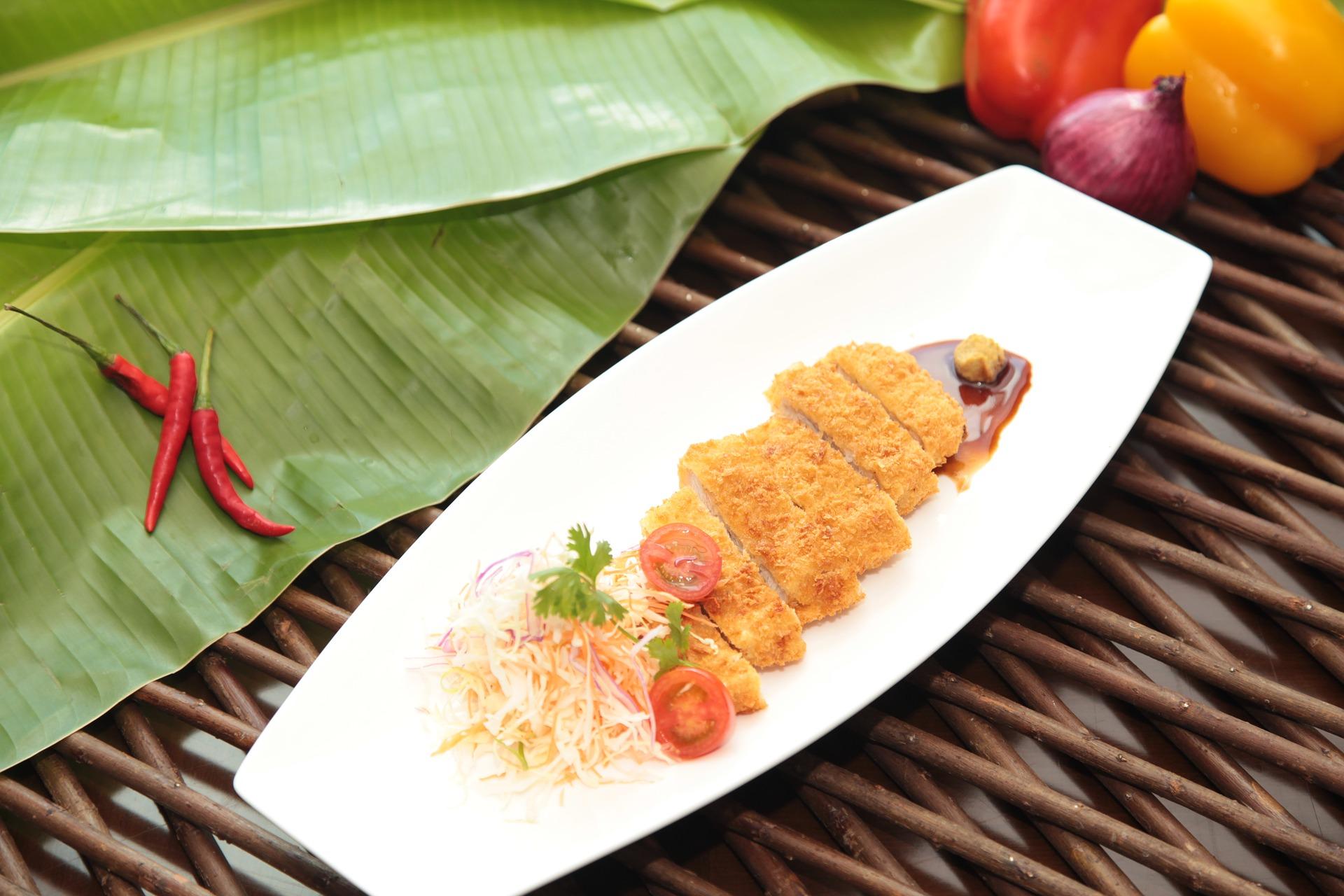 Tonkatsu, porc pané japonais