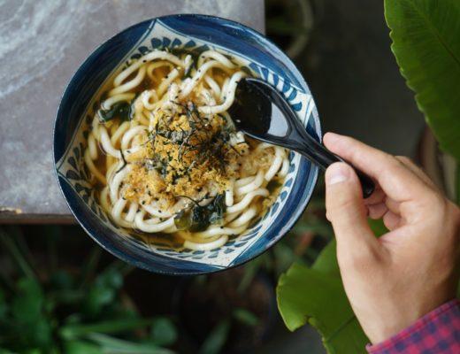 Nouilles udon, un plat à essayer au Japon