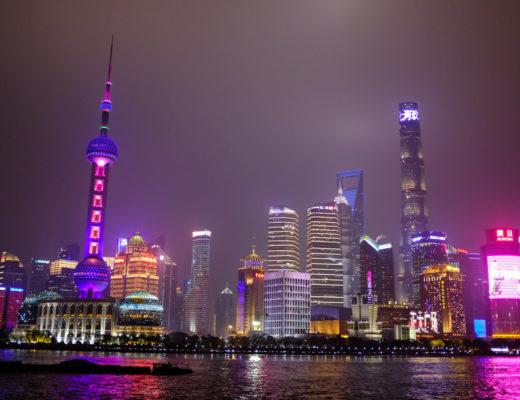 Incontournable de Shanghai, le Bund