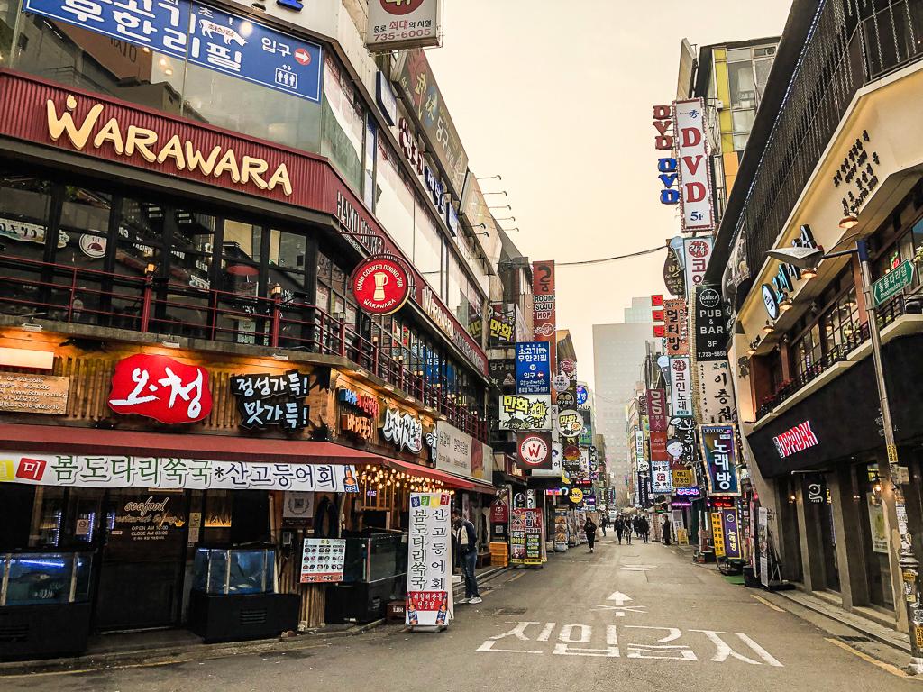 Visiter Séoul et le quartier animé de Myeong Dong