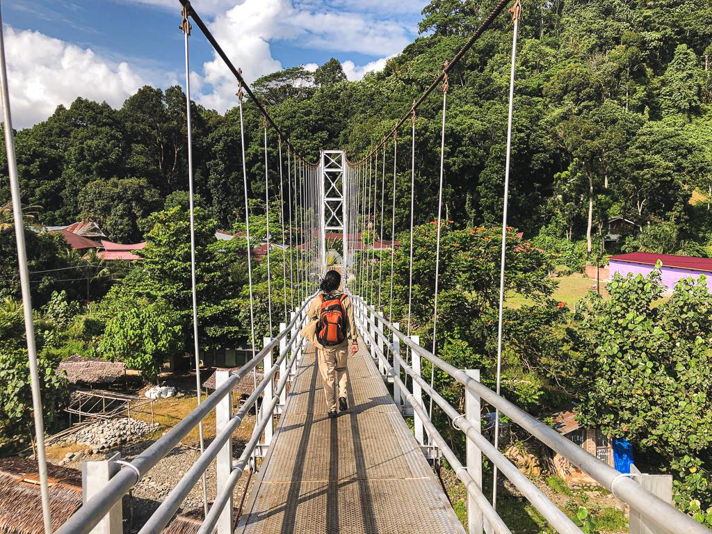 Pont de Bukit Lawang