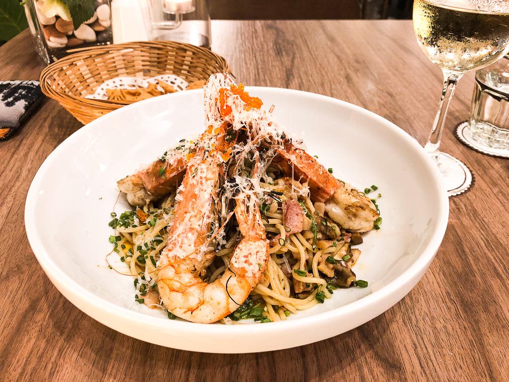 Un plat italien réussi à merveille à Georgetown, adresse de foodies.