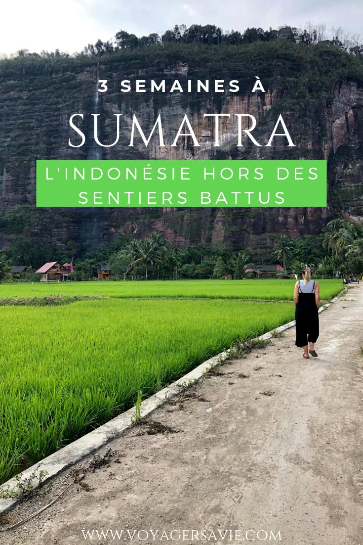 Itinéraire de 3 semaines à Sumatra en Indonésie