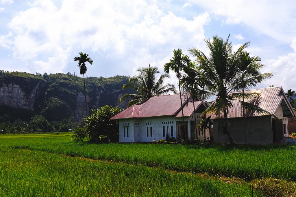 Balade dans la vallée d'Harau à Sumatra