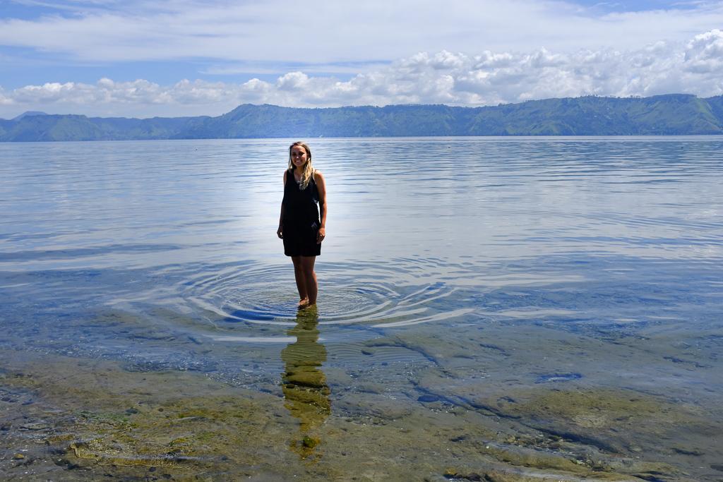 Plage du Lac Toba