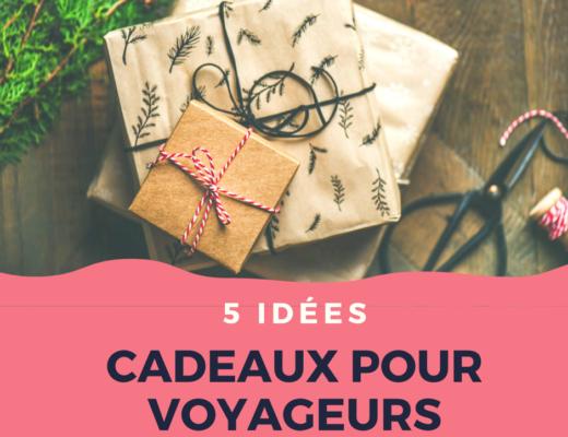 Idées cadeaux pour voyageurs