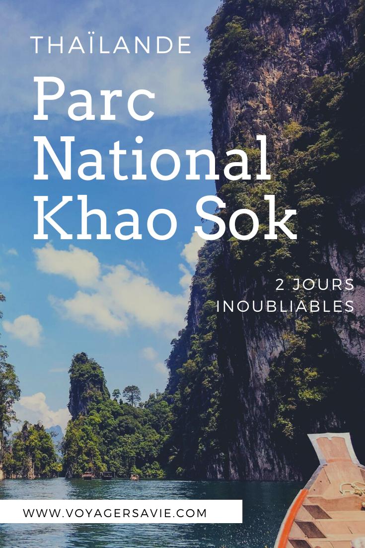 Séjour de 2 jours au Parc National Khao Sok