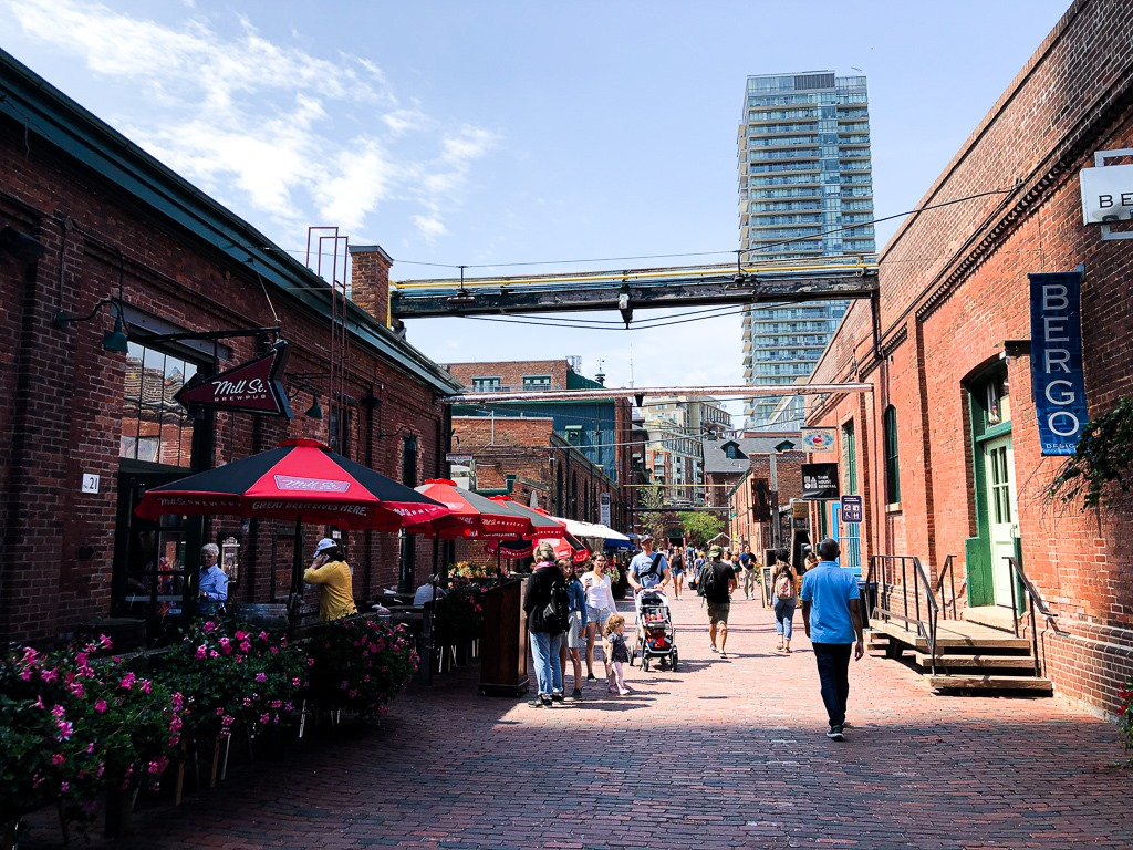 Distillry District de Toronto : Visiter Toronto