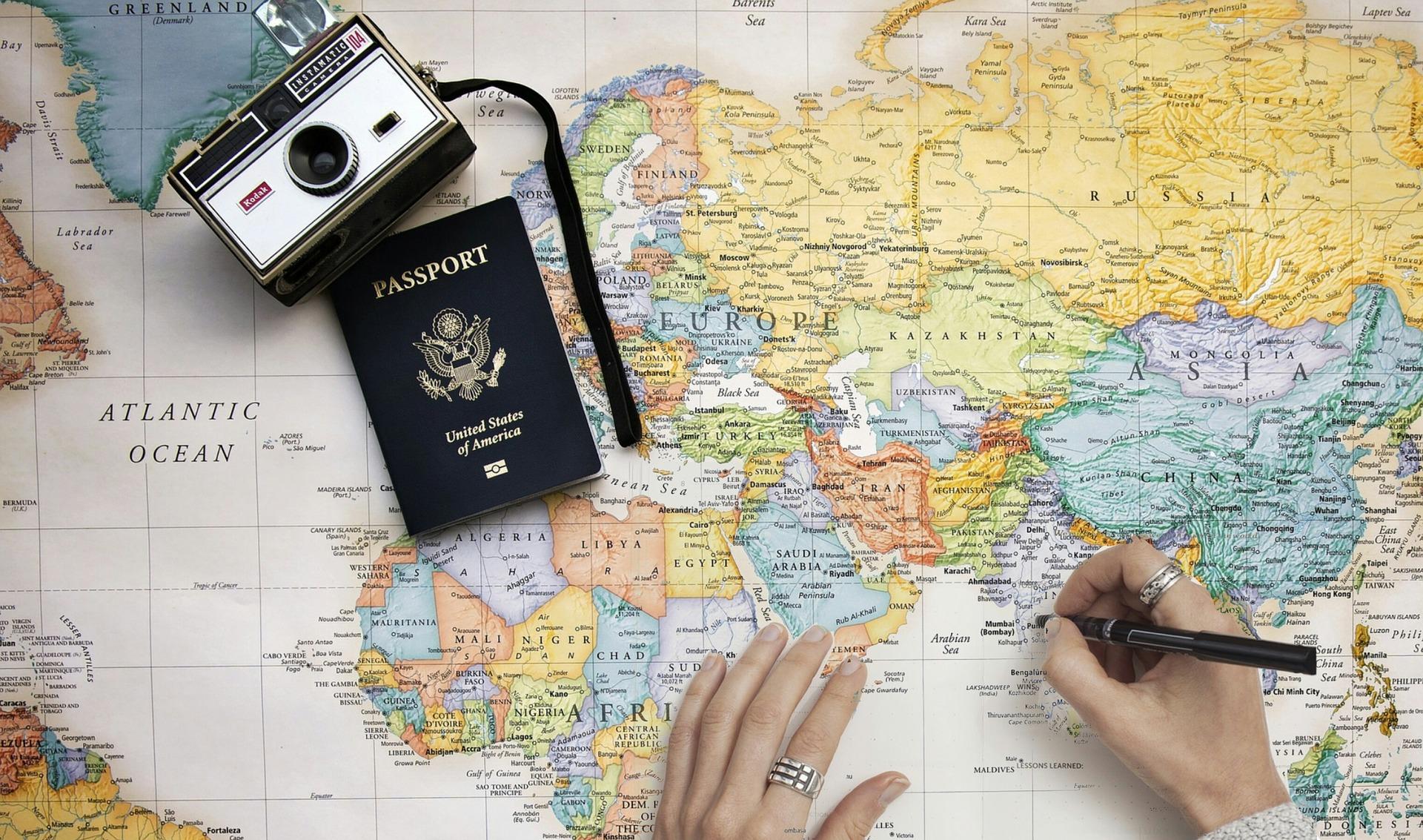 Créer son itinéraire : organiser un voyage à l'étranger