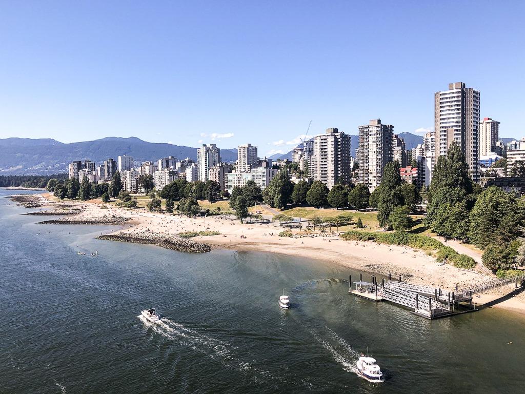 Visiter Vancouver est un incontournable lors d'un roadtrip en Colombie-Britannique